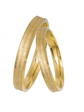 Βέρες από κίτρινο χρυσό 14Κ D031415 D031415