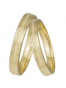 Χρυσές βέρες γάμου Κ14 D031424 D031424