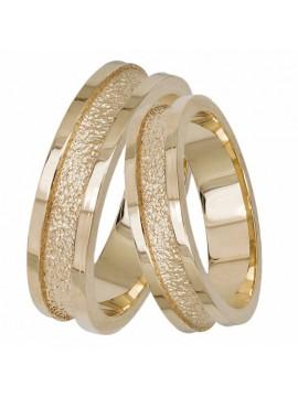 Χρυσές βέρες γάμου14Κ D032761 D032761