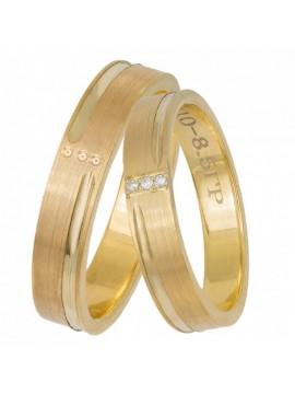 Χρυσές Βέρες Κ14 Γάμος-Αρραβώνα D033070 D033070