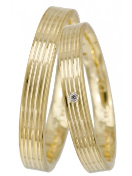Χρυσές σκαλιστές βέρες γάμου 9 καρατίων D024326 D024326