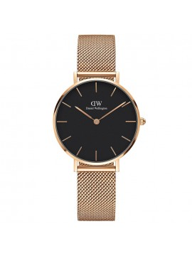 Ρολόι Daniel Wellington Classic petite melrose black 32mm DW00100161 DW00100161