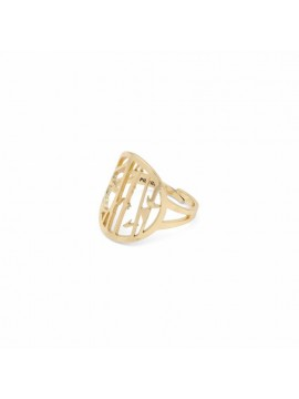 Δαχτυλίδι επίχρυσο σειράς Kiwa_Pilgrim 151912004 151912004