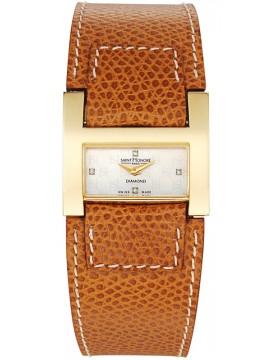 Γυναικείο Ρολόι Saint Honore Diamonds Leather Strap7104443YBD 7104443YBD