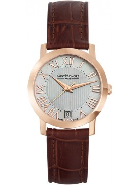 Saint Honore Trocadero Brown Leather Strap 7510208YFRR 7510208YFRR
