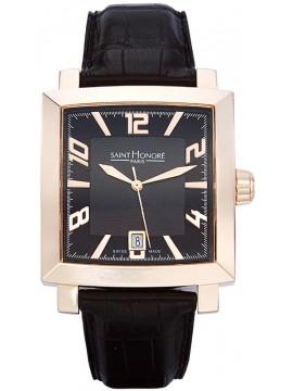 Ρολόι Saint Honore Orsay Grand Black Leather Strap 8600278NBFR 8600278NBFR