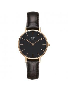 Ρολόι DW Petite York Rose Gold Leather strap 28.00mm DW00100226 DW00100226