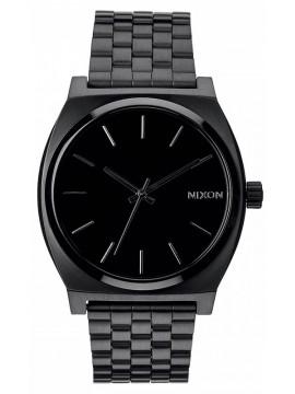Ρολόι Nixon Time teller Black Stainless Steel Bracelet A045-001-00 A045-001-00