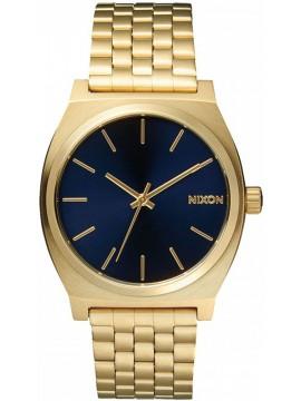 Ρολόι Nixon Time teller Gold/ Blue A045-1931-00 A045-1931-00