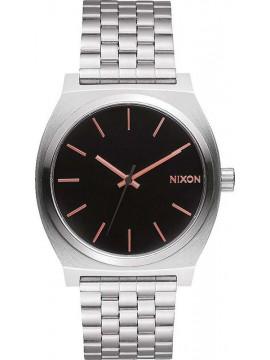 Ρολόι Nixon Time teller Silver/ Black A045-2064-00 A045-2064-00