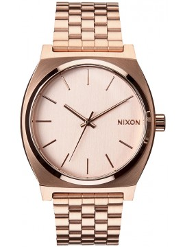 Nixon Time teller Rose Gold Stainless Steel Bracelet A045-897-00 A045-897-00