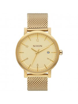 Ανδρικό ρολόι Nixon Rollo 38SS Gold Bracelet A1087-502-00 A1087-502-00