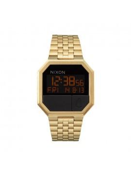 Ρολόι ανδρικό Nixon Re Run Gold Bracelet A158-502-00 A158-502-00