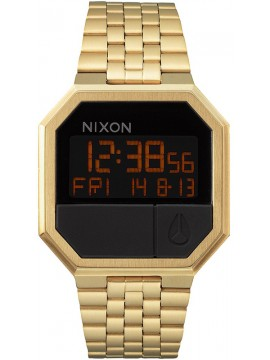 Nixon Digital Re Run Gold Bracelet A158-502 A158-502