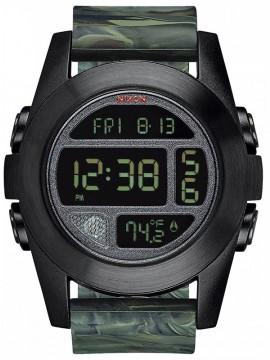 Ρολόι Nixon Unit Military με καουτσούκ λουράκι A365-1727-00 A365-1727-00