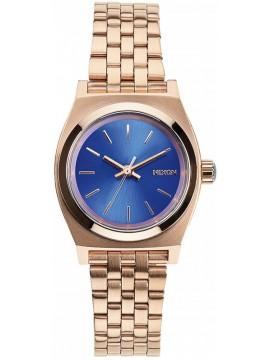 Ρολόι γυναικείο Nixon Small Time Τeller Rose Gold/Blue A399-1748-00 A399-1748-00