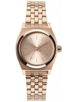 Nixon Small Time Τeller Rose Gold Stainless Steel Bracelet A399-897-00 A399-897-00