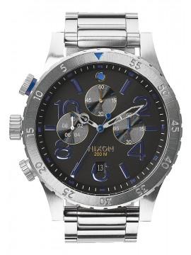 Ρολόι Nixon 48-20 Chrono Stainless Steel Bracelet A486-1529-00 A486-1529-00