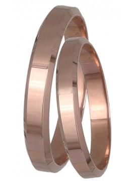 Ροζ gold βέρες 14Κ DBRS061R DBRS061R