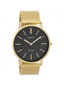 Γυναικείο ρολόι OOZOO Gold metallic bracelet 40.00mm C9348 C9348