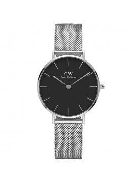 Γυναικείο ρολόι Daniel Wellington petite Silver Sterling black DW00100162