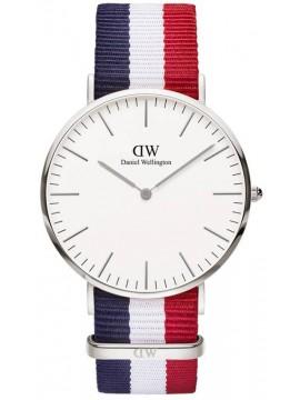 Ρολόι Daniel Wellington Classic Cambridge Silver 40mm 0203DW D0203DW