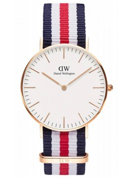 Ρολόι Daniel Wellington Classic Canterbury Rose gold 36mm 0502DW 0502DW
