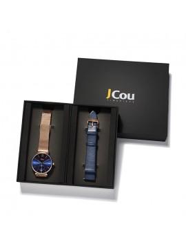 Γυναικείο ρολόι JCou της σειρά Grace Gift Box JU17145-9 JU17145-9