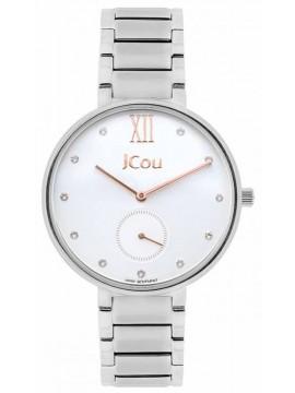Γυναικείο ρολόι JCou Majesty Stainless Steel Bracelet JU15045-1 JU15045-1