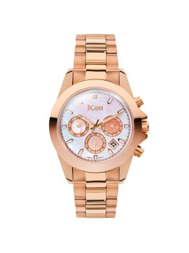 Ρολόι JCOU Εmerald Multifunction Rose Gold Bracelet JU17055-5 JU17055-5