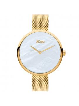 Ρολόι JCOU Luna Gold Stainless Steel Mesh Bracelet ju17115-2 ju17115-2
