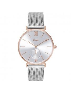 Γυναικείο ρολόι JCou Grace δίχρωμο με μπρασελέ JU17145-4 JU17145-4
