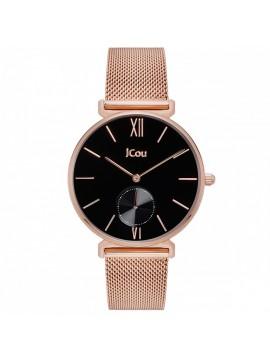 Ρολόι JCou γυναικείο Rose gold Bracelet JU17145-6 JU17145-6