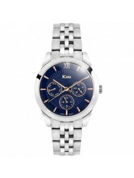 Ρολόι JCou Celeste Multifunction Silver Bracelet JU18018-1 JU18018-1