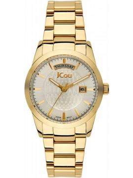 JCou Princess Gold Stainless Steel Bracelet JU15085-6 JU15085-6