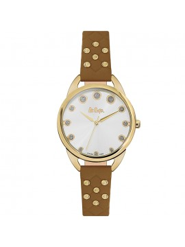 Lee cooper Ladies Brown Leather Strap LC06388.132 LC06388.132