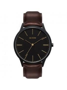 Ρολόι Le Dom ανδρικό Dark Chocolate LD.1001-7 LD.1001-7