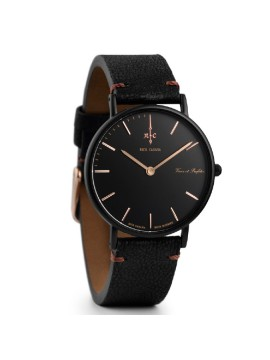 Ρολόι Nick Cabana Noir Boheme Black Leather Strap NC009 NC009