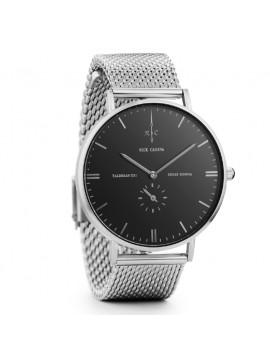 Ρολόι Nick Cabana Talisman Silver Stainless Steel Bracelet NC107 NC107