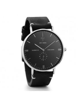 Αντρικό ρολόι Nick Cabana Talisman με μαύρο δερμάτινο λουράκι NC108 NC108