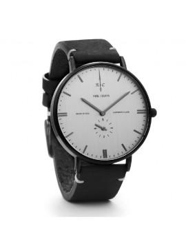 Ρολόι Nick Cabana Talisman με μαύρο δερμάτινο λουράκι NC112 NC112