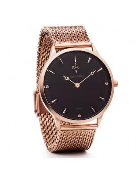 Ρολόι Nick Cabana Nilaya με ροζ επίχρυσο μπρασελέ NC208 NC208