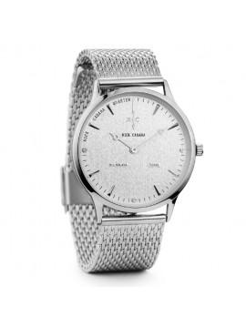 Ρολόι Nick Cabana Nilaya Silver Stainless Steel Bracelet NC209 NC209
