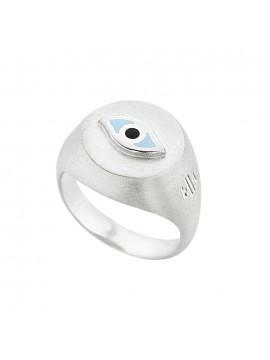 Ασημένιο δαχτυλίδι Eye Honor SR042ST SR042ST