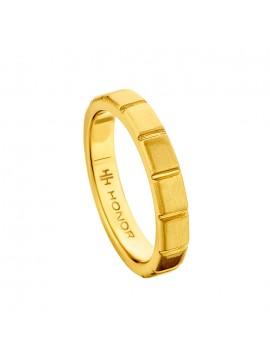 Επίχρυσο γυναικείο δαχτυλίδι Honor 925 SR043Y SR043Y