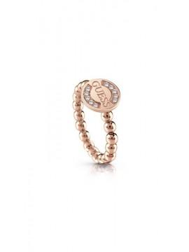 Ροζ επίχρυσο δαχτυλίδι γυναικείο Guess UBR28011-54 UBR28011-54