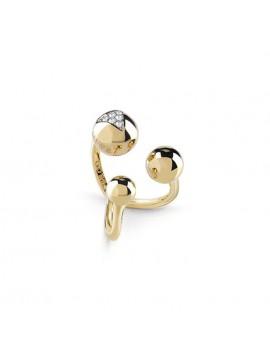 Επίχρυσο δαχτυλίδι Guess με φούσκες UBR85019-54 UBR85019-54