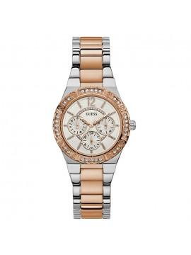 Ρολόι GUESS Ladies Two Tone Stainless Steel Bracelet W0845L6 W0845L6