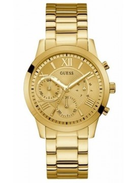 Ρολόι Guess Multifunction Gold Stainless Steel Bracelet W1070L2 W1070L2