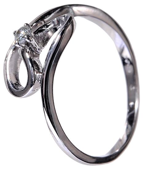 Πρωτότυπο μονόπετρο δαχτυλίδι 14 καρατίων με ζιργκόν D002133 D002133 854f6e8b04b